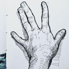 Sketch, November 23, 2016, Ink
