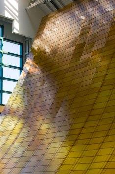 Radiant Landscape, Daniel Clayman, 2017; glass, wire