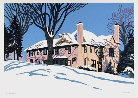 Snow Patterns, 1982